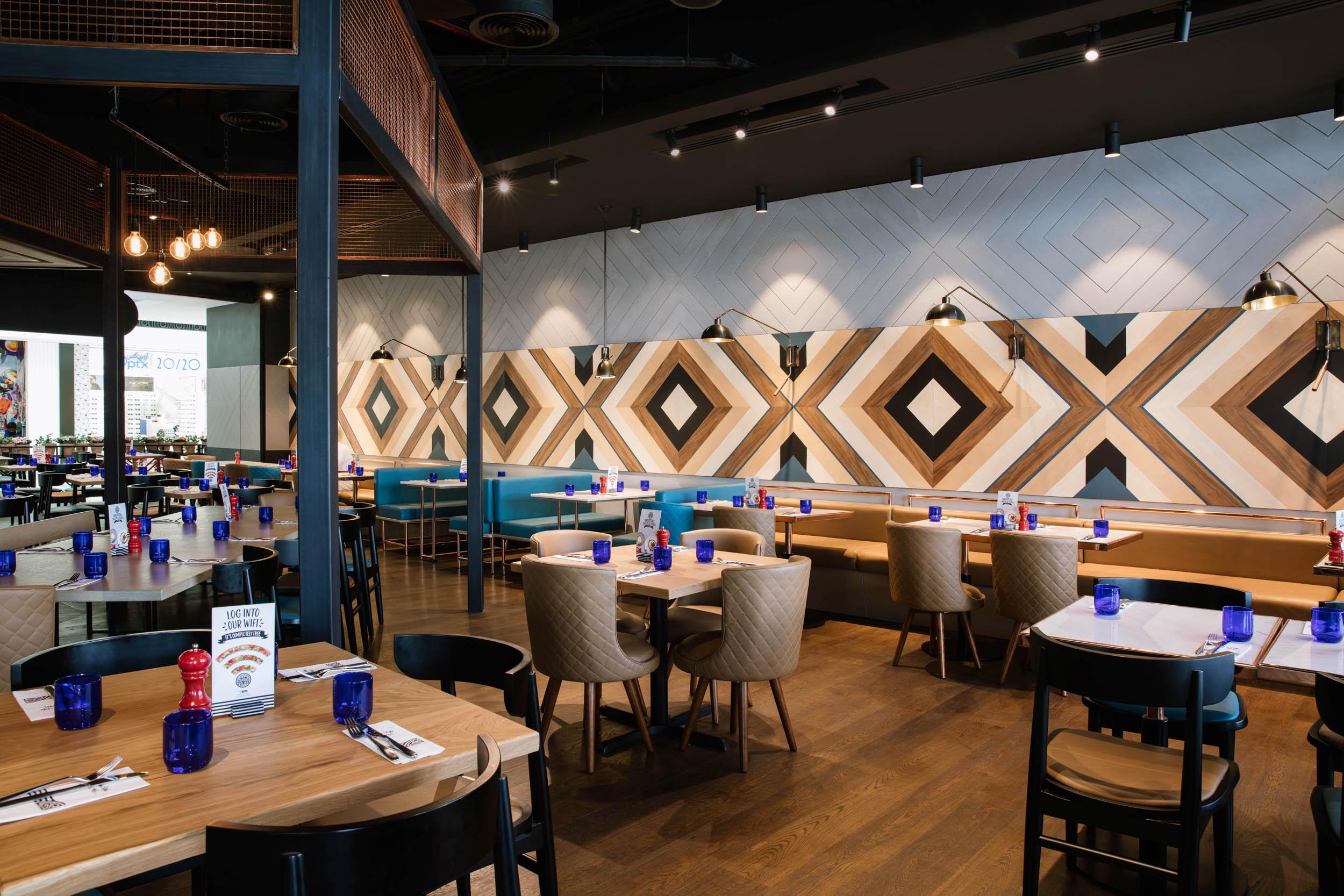 PizzaExpress-BestInterior Design Companies in Dubai