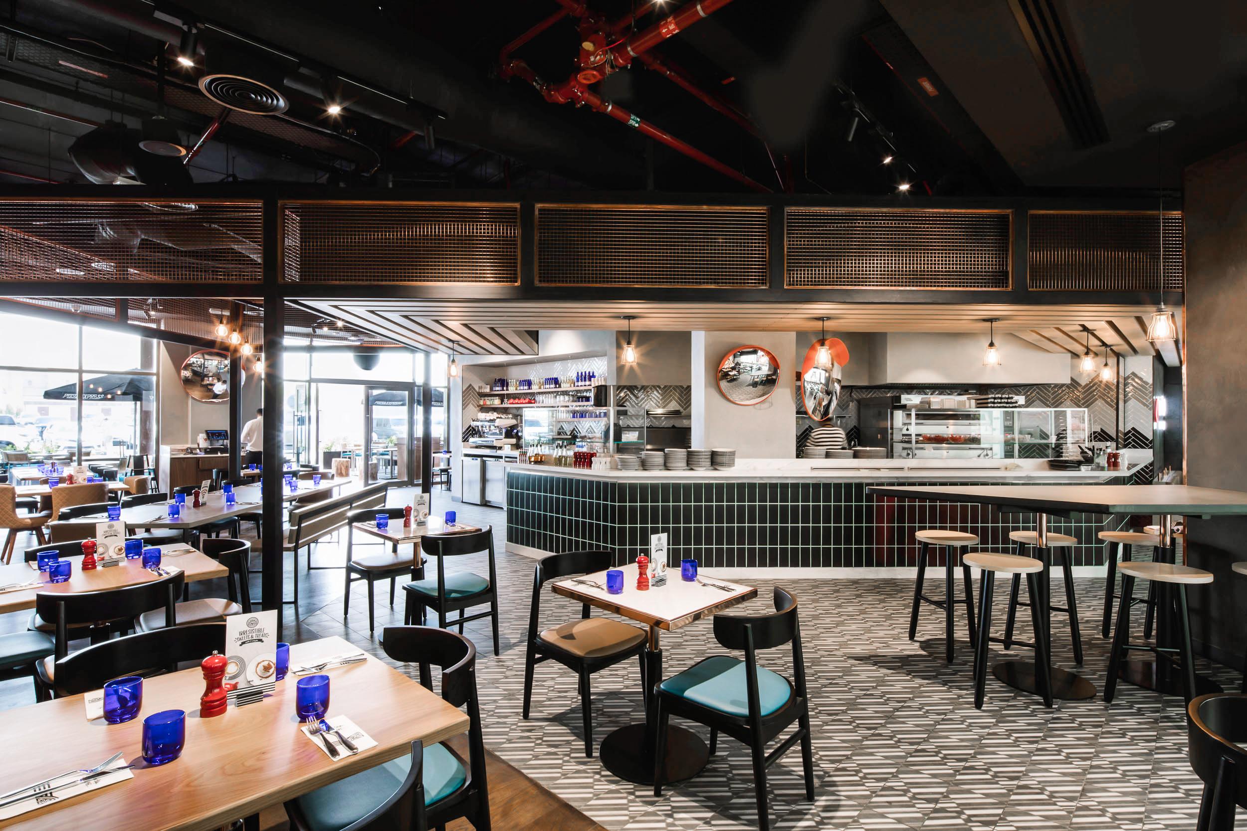 PizzaExpress-Interior Design Company in UAE