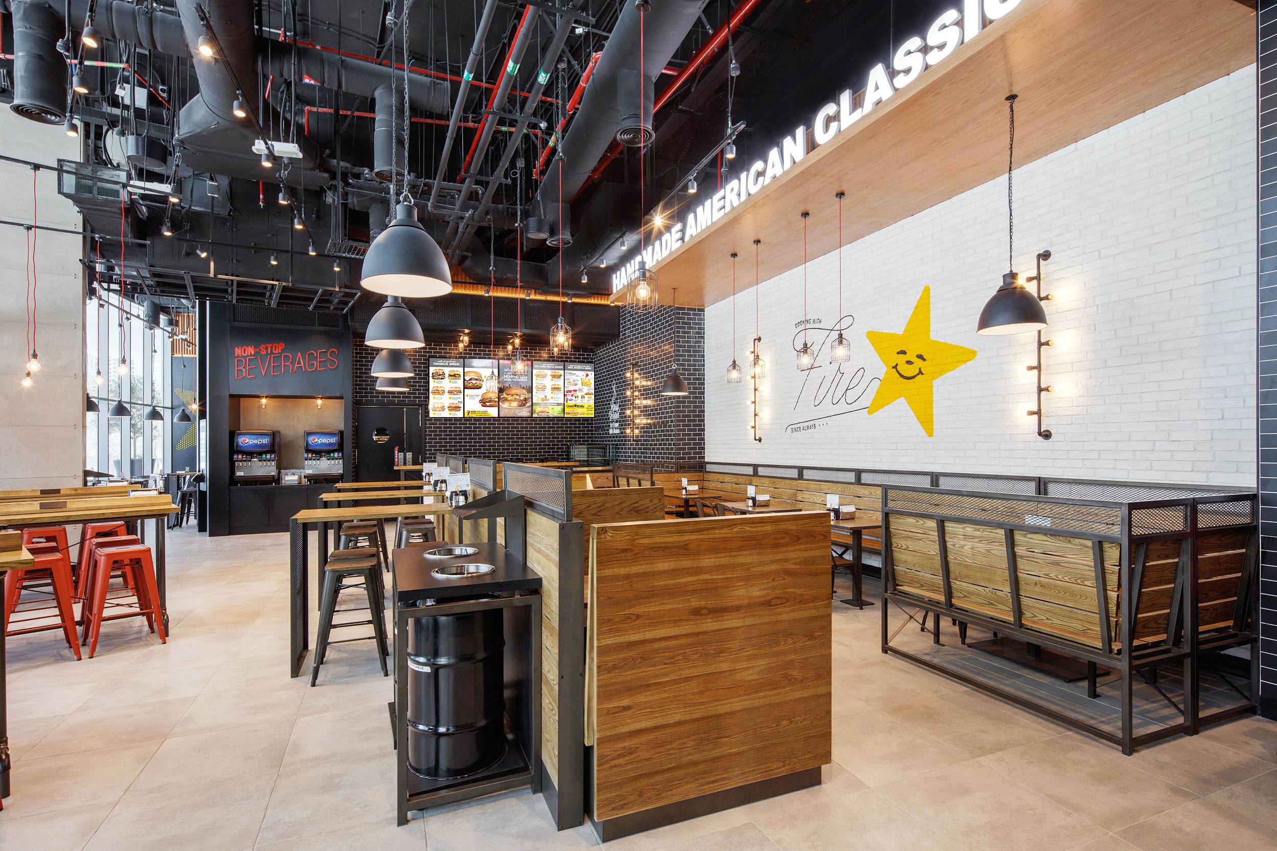 Hardees-Interior Design Company Dubai