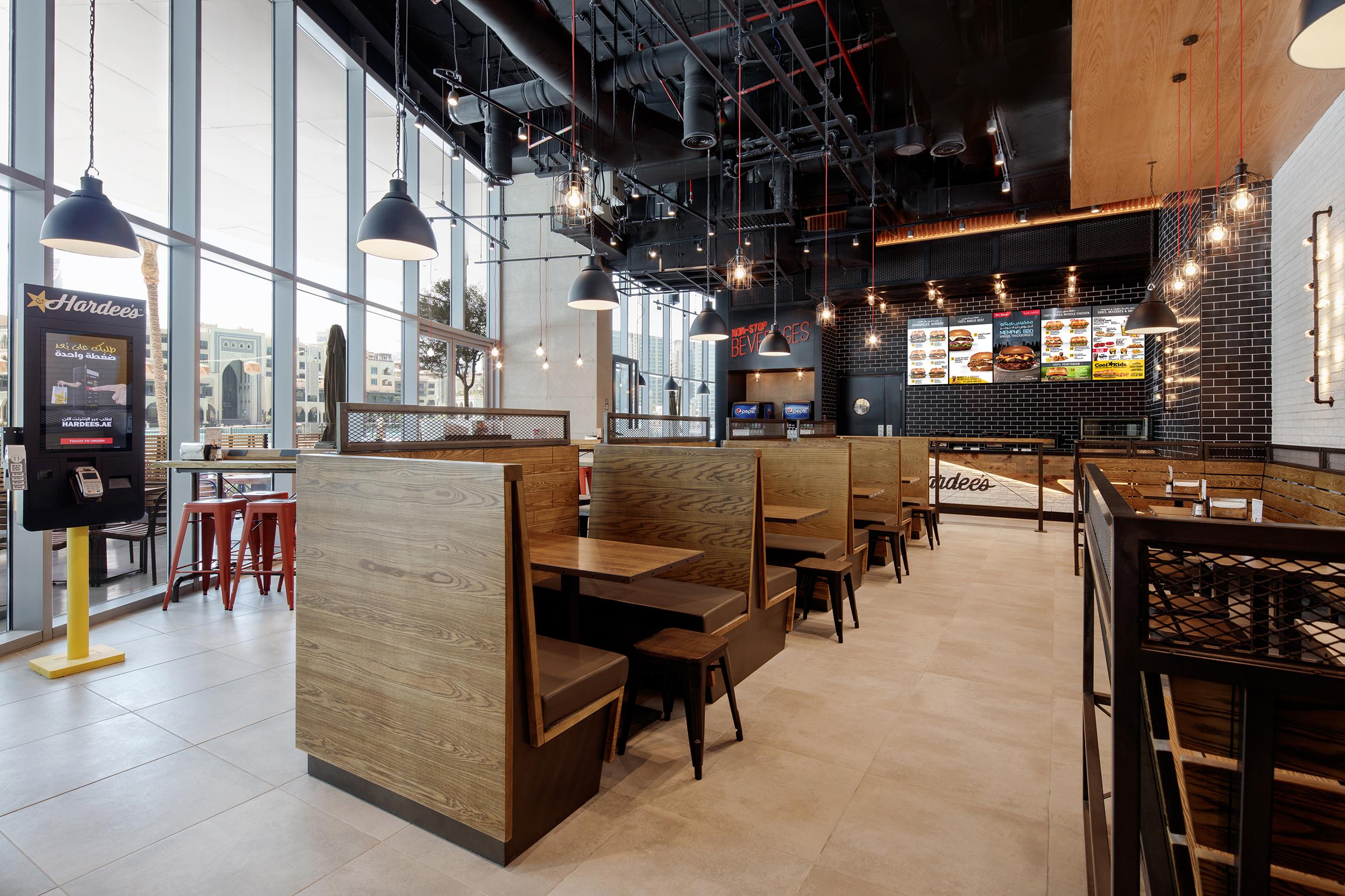 Hardees-Interior Design UAE