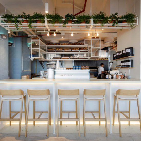 Bagel Yard-BestInterior Design Companies in Dubai