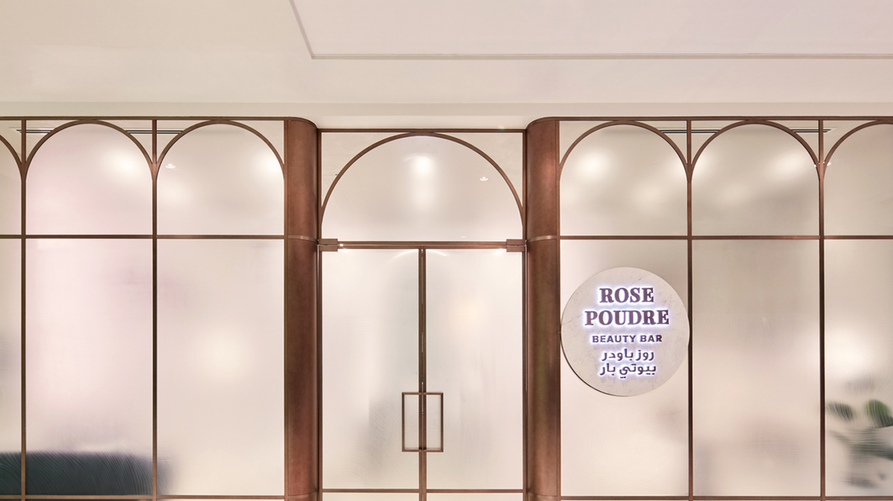 H2r Design Creates Women S Salon With A Softer Interpretation Of Industrial Elements In Abu Dhabi H2r